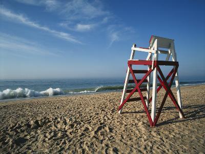 Beachfront, Charleston Beach, Rhode Island, USA-Walter Bibikow-Photographic Print