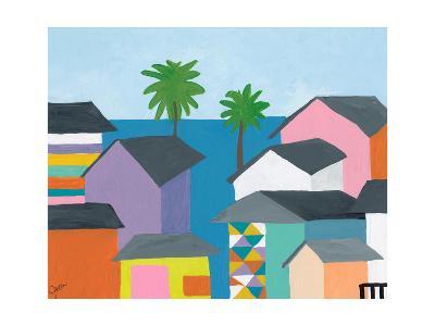 Beachfront Property 2-Jan Weiss-Photographic Print