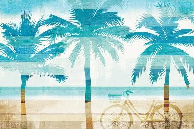 Beachscape Palms I-Michael Mullan-Art Print