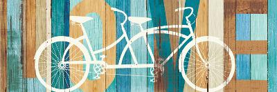 Beachscape Tandem Bicycle Love-Michael Mullan-Art Print