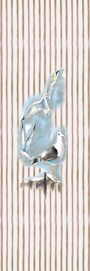 Beachside Gulls-Anne Ormsby-Art Print
