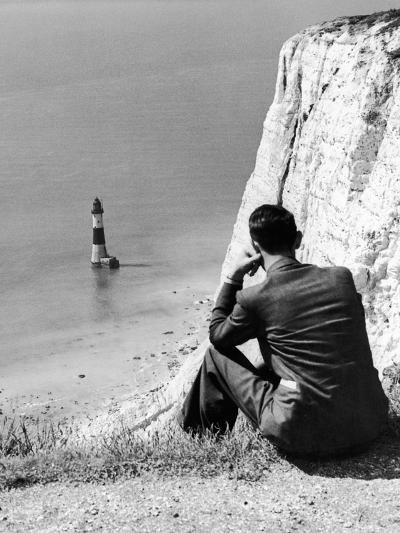 Beachy Head 1936-Sunday Mirror-Photographic Print
