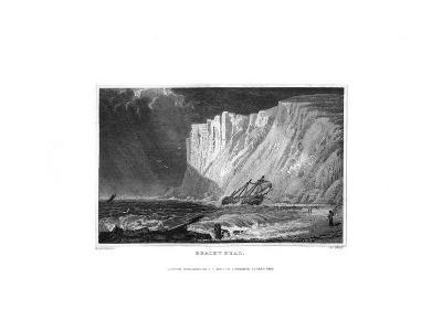 Beachy Head, East Sussex, 1829-J Rogers-Giclee Print