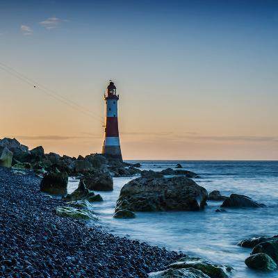 Beachy Head Lighthouse, East Sussex-Green Planet Photography-Photographic Print