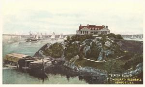 Beacon Rock, Morgan Residence, Newport, Rhode Island