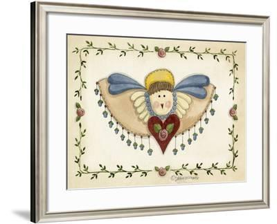 Beaded Angel-Debbie McMaster-Framed Giclee Print
