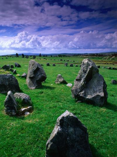 Beaghmore Stone Circles from the Bronze Age, Tyrone, Northern Ireland-Gareth McCormack-Photographic Print