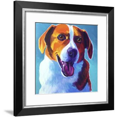 Beagle - Penny-Dawgart-Framed Giclee Print