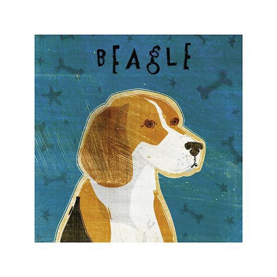 Beagle-John Golden-Giclee Print
