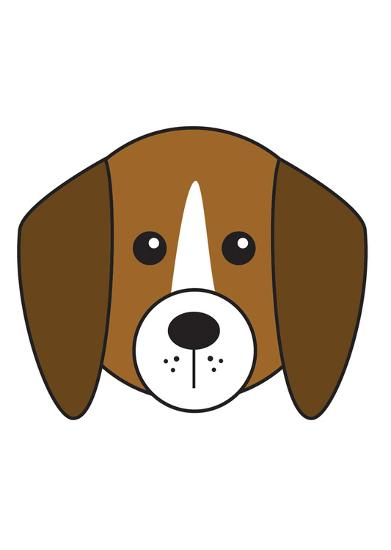 Beagle--Art Print