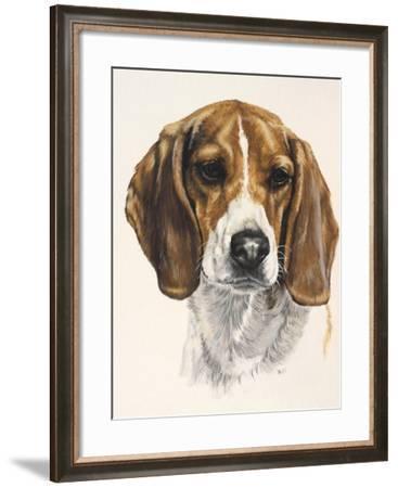Beagle-Barbara Keith-Framed Giclee Print