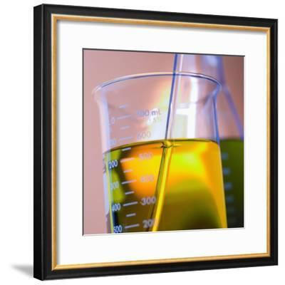 Beaker Filled with Liquid--Framed Photographic Print