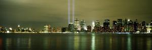 Beams of Light, New York, New York State, USA