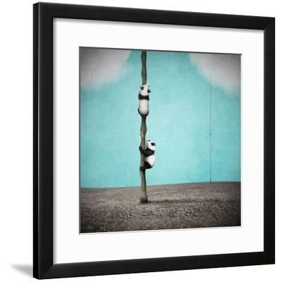 Beanstalks-Greg Noblin-Framed Art Print