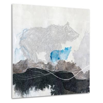 Bear 1-Louis Duncan-He-Metal Print