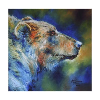 Bear Abstract-Marcia Baldwin-Art Print
