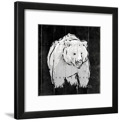 Bear Hug-OnRei-Framed Art Print