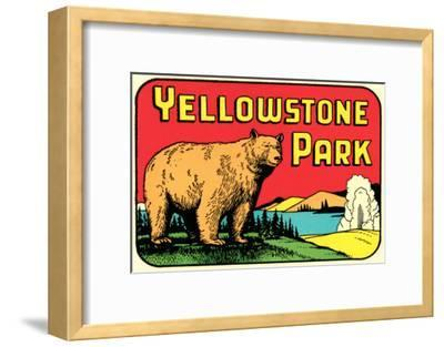 Bear in Yellowstone Park