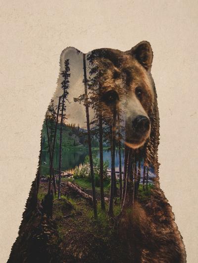 Bear Lake-Davies Babies-Art Print
