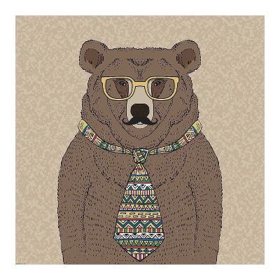Bear-man-GraphINC-Art Print