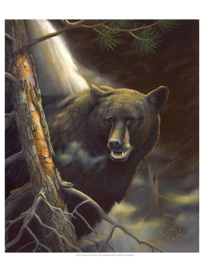 Bear Portrait-Leo Stans-Art Print