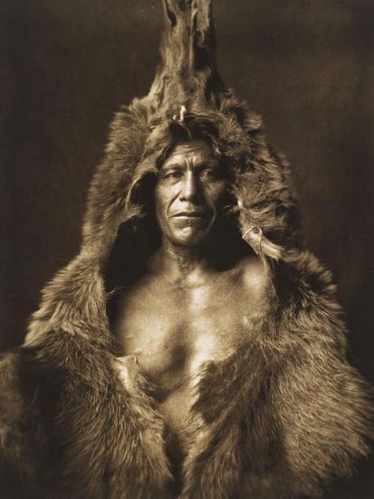 Bear's Belly-Arikara 1908-Edward S^ Curtis-Giclee Print