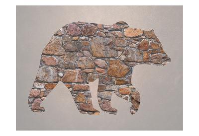 Bear Woods 2-Sheldon Lewis-Art Print