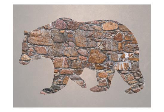 Bear Woods-Sheldon Lewis-Art Print