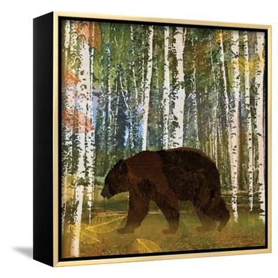 Bear-Lynnea Washburn-Framed Canvas Print
