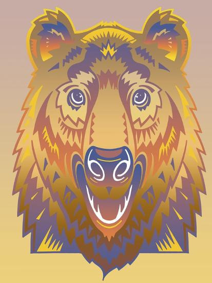 Bear-David Chestnutt-Giclee Print
