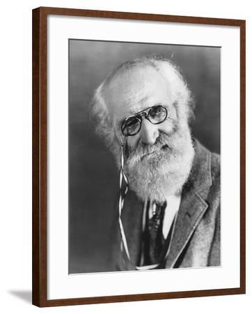 Bearded Man with Pince-Nez--Framed Photo