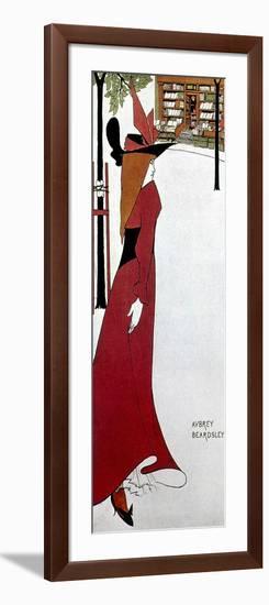 Beardsley: Poster Design-Aubrey Beardsley-Framed Giclee Print