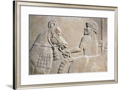 Bearer of Offering--Framed Giclee Print
