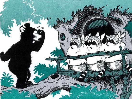 Bears are Different - Jack & Jill-Joseph Bolden-Giclee Print