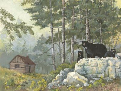 Bears Cabin-Anita Phillips-Art Print