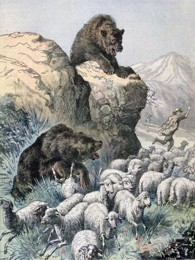 Bears of the Cagyre, 1891-F Meaulle-Giclee Print
