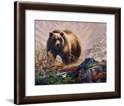 Beary Delight-Carolyn Mock-Framed Art Print