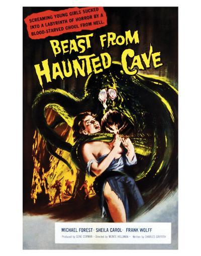 Beast From Haunted Cave - 1960 I--Giclee Print