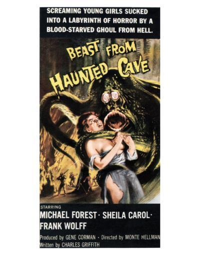 Beast From Haunted Cave - 1960 III--Giclee Print