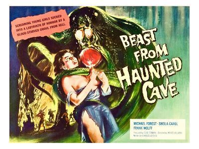 Beast From Haunted Cave, Sheila Carol, (Lobbycard), 1960--Photo