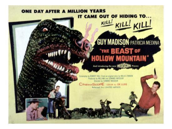 Beast of Hollow Mountain, 1956--Photo