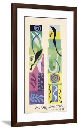 Beasts of the Sea-Henri Matisse-Framed Art Print