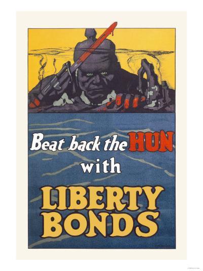 Beat Back the Hun with Liberty Bonds--Art Print