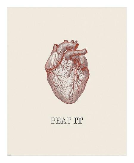 Beat It-GraphINC-Art Print