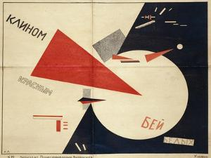 Beat the Whites with the Red Wedge (The Red Wedge Poster)
