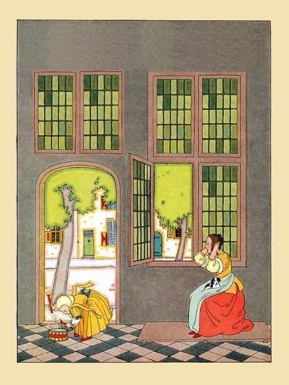 Beat Your Little Drum- Maud & Miska Petersham-Art Print