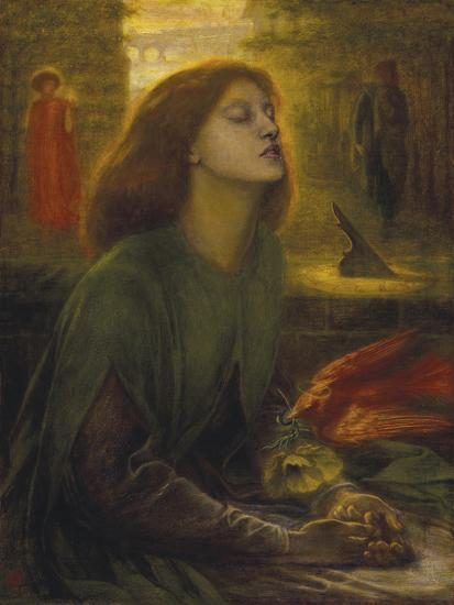 Beata Beatrix-Dante Gabriel Rossetti-Giclee Print