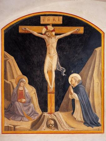 Crucifixion with the Virgin Mary and St. Dominic