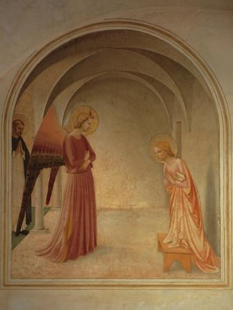 The Annunciation by Beato Angelico