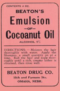 Beaton's Emulsion of Cocoanut Oil
